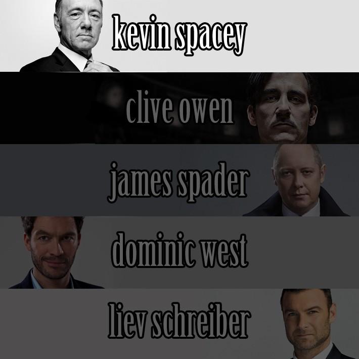 Najboljši igralec v TV drami je postal Kevin Spacey, ki odlično igra Franka Underwooda v House of Cards.