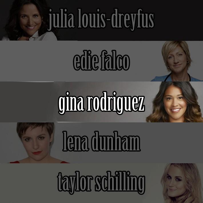 Najboljša igralka v TV komediji je postala Gina Rodriguez iz Jane the Virgin (CW)