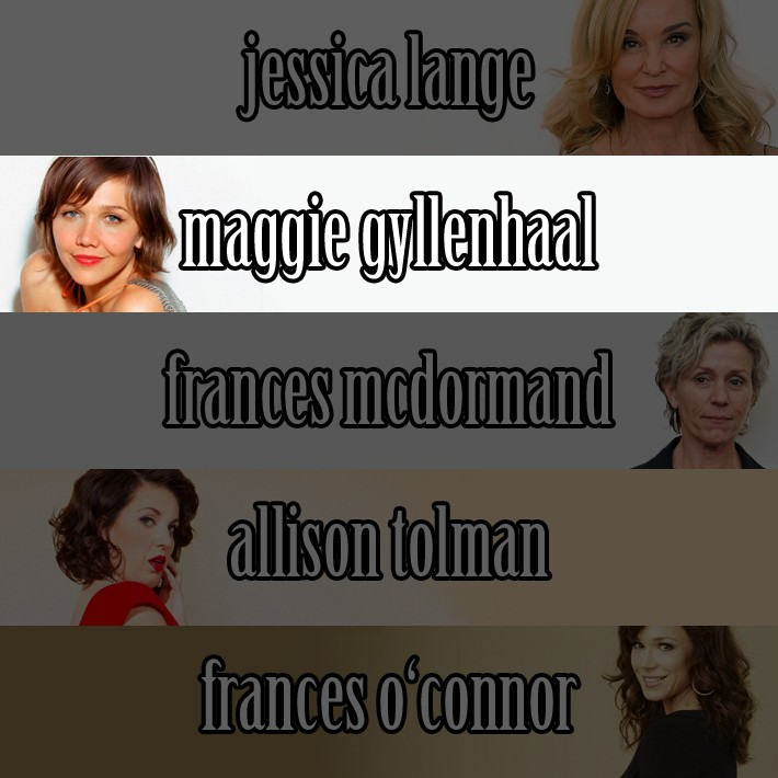 Najboljša igralka v mini seriji je postala Maggie Gyllenhaal, ki je zaigrala v The Honourable Woman (Sundance TV), izredno dobri seriji.