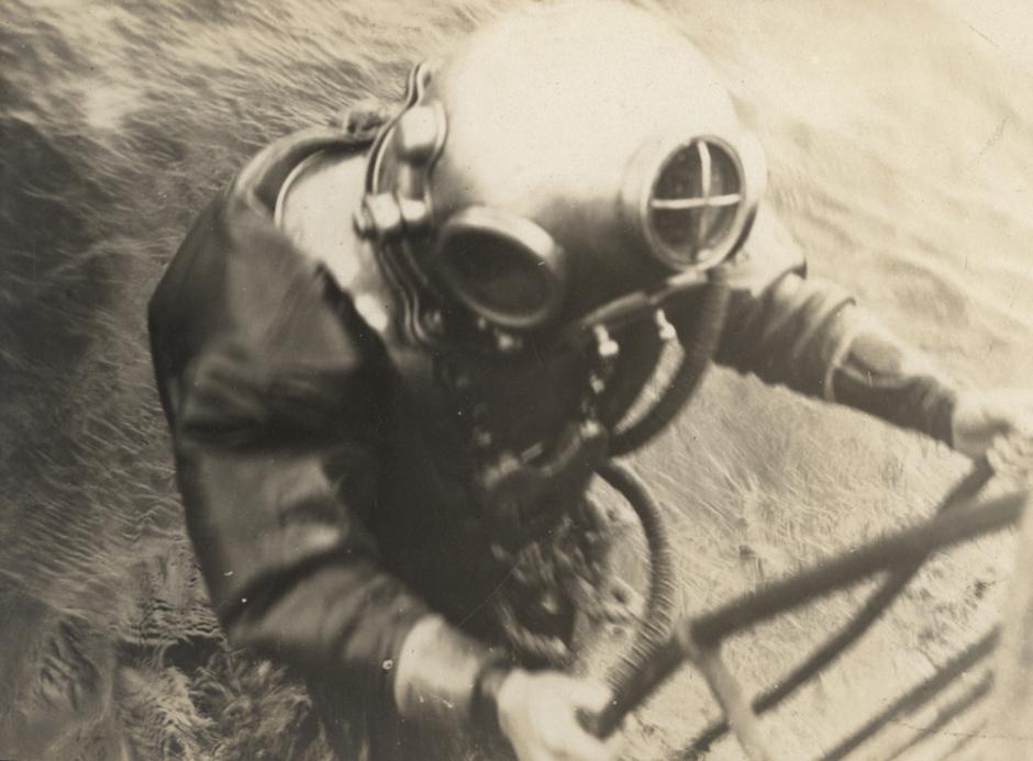 Nemški potapljač, 1917.